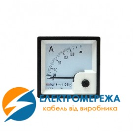 AС Амперметр прям. вкл. 60А 72х72 ( A-72-6)